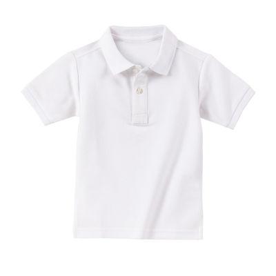IZOD Boys Point Collar Short Sleeve Polo Shirt - Toddler