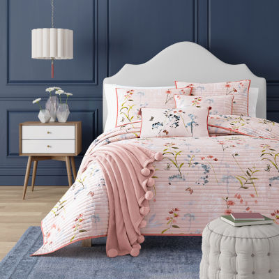 Queen Street Blakely Floral Coverlet