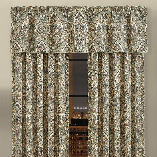 Queen Street Veronica Rod-Pocket Straight Valance