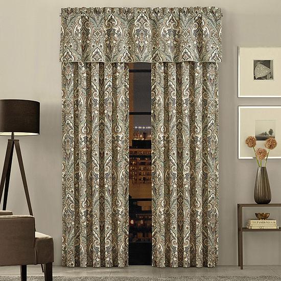 Queen Street Veronica Rod Pocket 50x84 Pair Curtain Panels