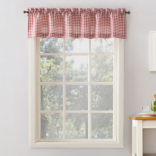 No 918 Perry Rod-Pocket Tailored Valance