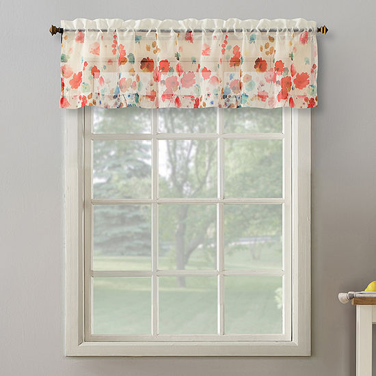 No 918 Rosalee Rod-Pocket Tailored Valance