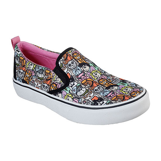 Skechers Bobs Womens Marley Jr Cat Pack Closed Toe Slip-On Shoe