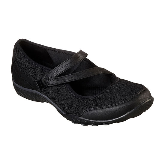 Skechers Womens Breathe Easy   In Good Spirits Mary Jane Shoes