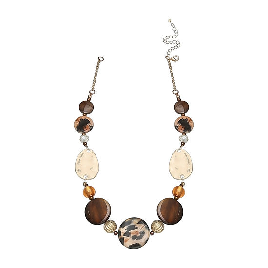 Mixit Single Row Animal Beaded Necklace