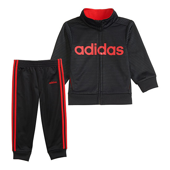 adidas Boys 2-pc. Track Suit Preschool