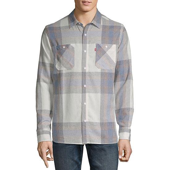 Levi's® Men's Long Sleeve Button- Down Flannel