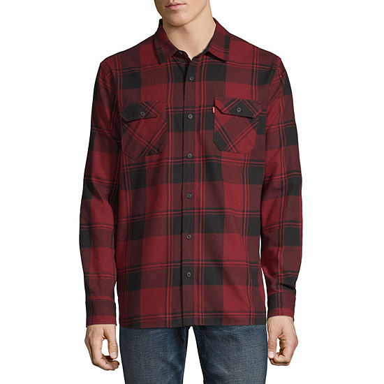 Levi's® Long Sleeve Button- Down Flannel