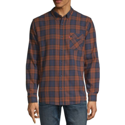 Levi's® Men's Long Sleeve Button- Down Flannel