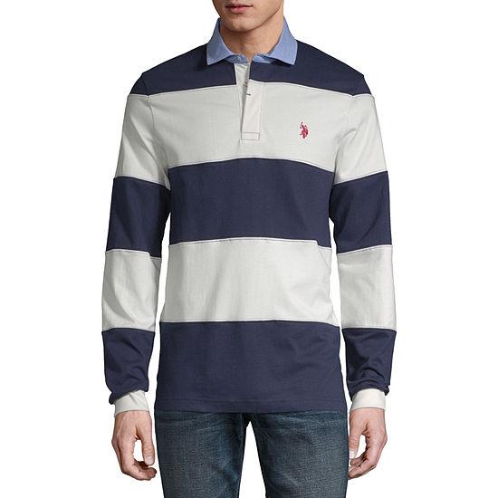 U.S. Polo Assn. Mens Long Sleeve Polo Shirt
