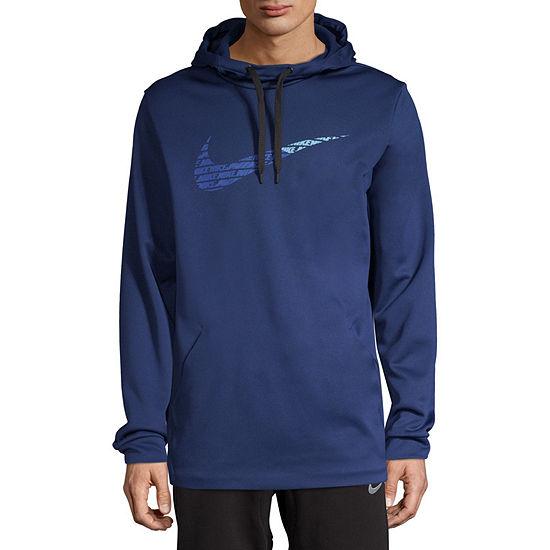 Nike Mens Long Sleeve Embellished Hoodie