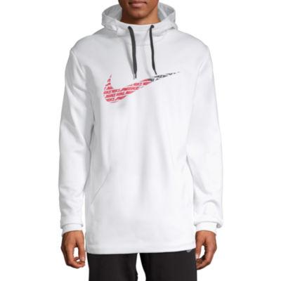 Nike Swoosh Mens Long Sleeve Hoodie