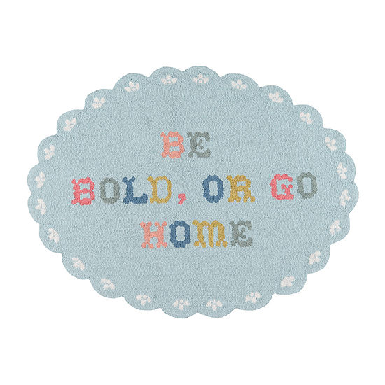 Madcap Cottage By Momeni Get Smart Never Wilt Hooked Oval Indoor Rugs