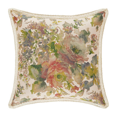 Queen Street Francine Square Throw Pillow
