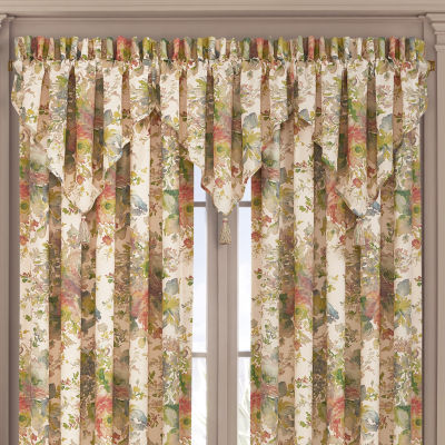 Queen Street Francine Rod-Pocket Ascot Valance