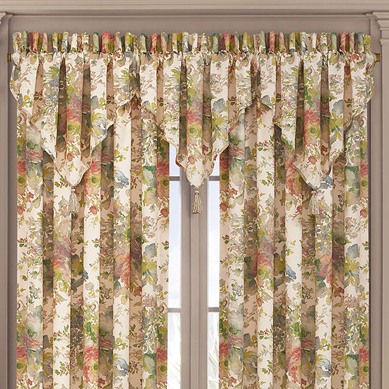 Queen Street Francine Rod-Pocket Valance