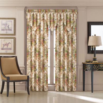 Queen Street Francine Light-Filtering Rod-Pocket Curtain Panel