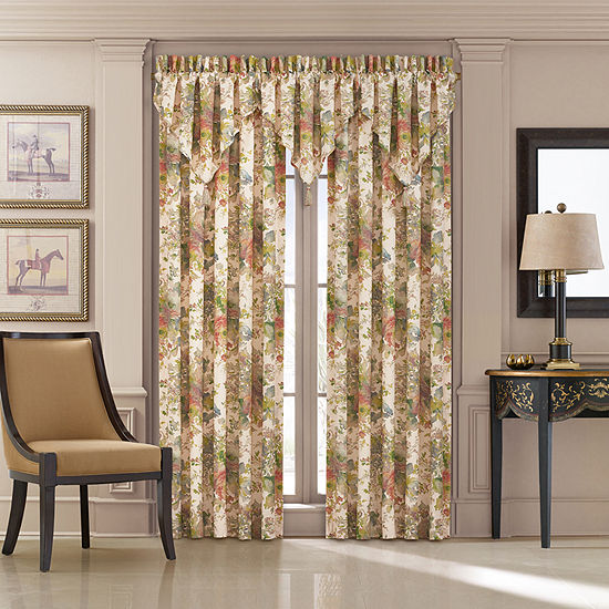 Queen Street Francine 50x84 Pair Rod-Pocket Curtain Panels