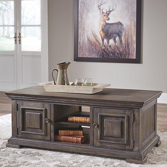 Signature Design by Ashley® Wyndahl Coffee Table with Storage