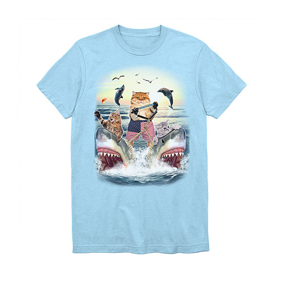 778c4acdf Mens Shark Week Graphic T-Shirt - JCPenney