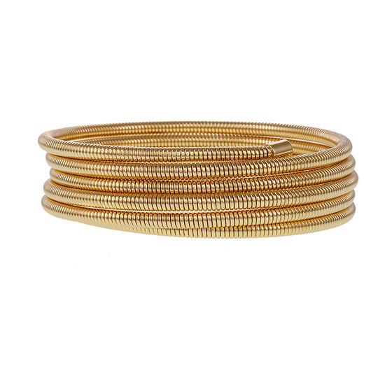 Bold Elements Metals Womens Wrap Bracelet