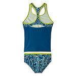 Nike - Big Kid Girls Animal Tankini Set