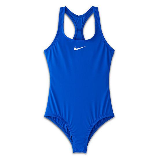 Nike Girls One Piece Swimsuit Big Kid