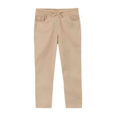 Izod Exclusive Toddler Girls Skinny Pull-On Pants
