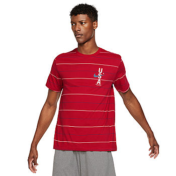 Nike Crew Neck Short Sleeve Moisture Wicking Mens T-Shirt