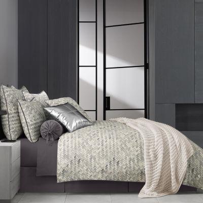 Queen Street Haven 4-pc. Stripes Heavyweight Comforter Set