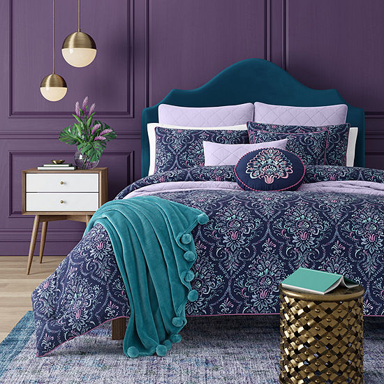Queen Street Kinsley Floral Midweight Comforter Set
