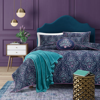 Queen Street Kinsley Floral Coverlet