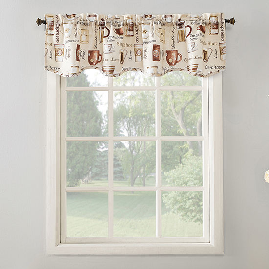 No 918 Berkley Rod-Pocket Scallop Valance