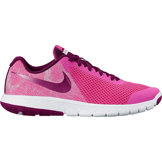 0551d51268e Nike® Flex Experience Print 5 Girls Running Shoes - Big Kids - JCPenney