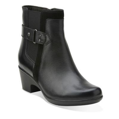Clarks® Malia Maui Comfort Chelsea Ankle Boots
