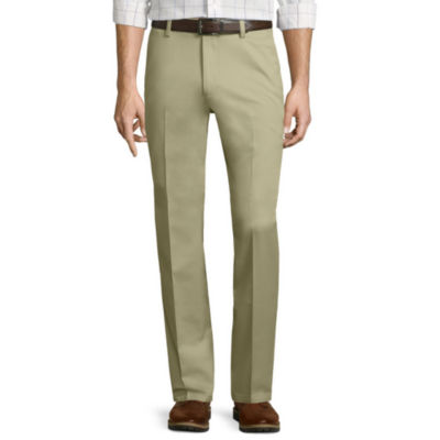 St. John's Bay® Stretch Iron-Free Straight-Fit Flat-Front Pants