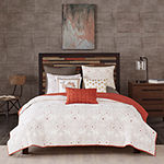 INK+IVY Reversible Kandula 3-pc. Coverlet Mini Set & Accessories