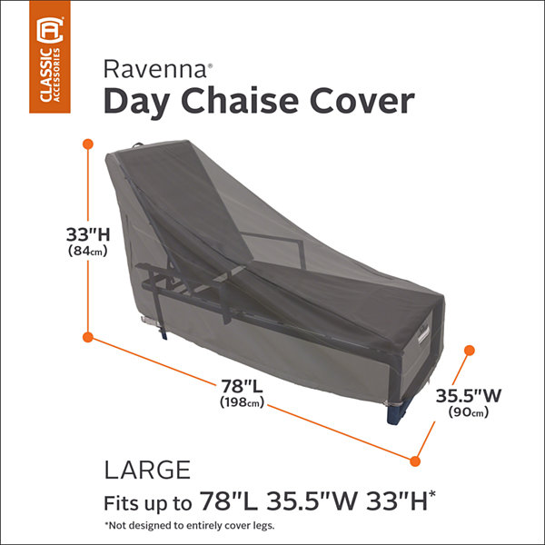 Classic Accessories® Ravenna Large Chaise Lounge Cover