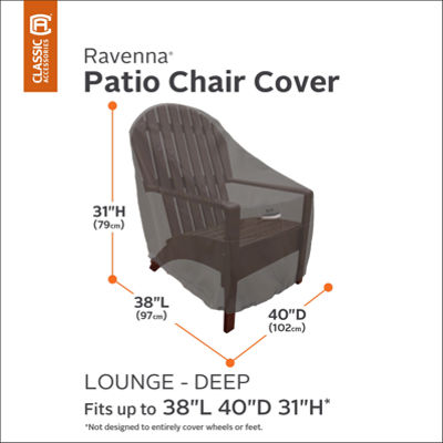 Classic Accessories® Ravenna Deep Chair Cover