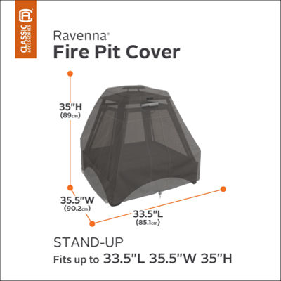 Classic Accessories® Ravenna Stand-Up Fire Pit Cover