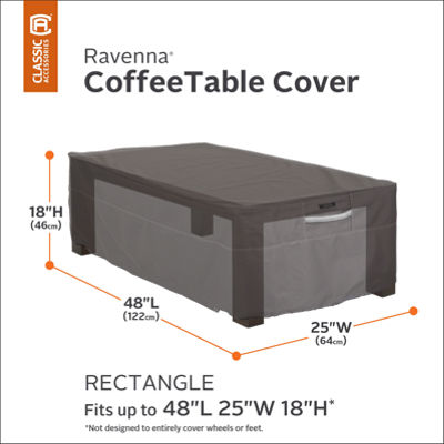 Classic Accessories® Ravenna Rectangular Coffee Table Cover