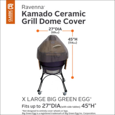 Classic Accessories® Ravenna X-Large Ceramic Grill Dome Cover