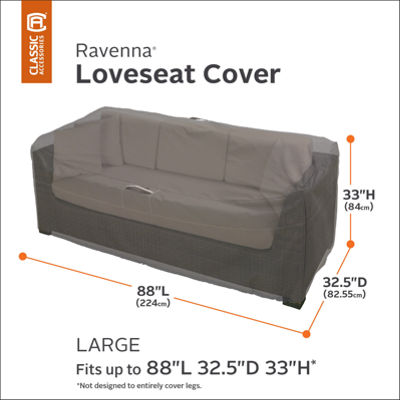 Classic Accessories® Ravenna Large Loveseat Cover