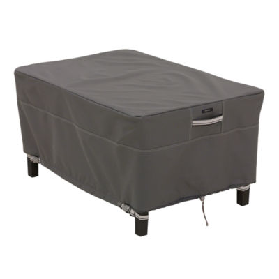 Classic Accessories® Ravenna Large Rectangular Ottoman Side Table Cover