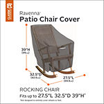 Classic Accessories® Ravenna Rocking Chair Cover