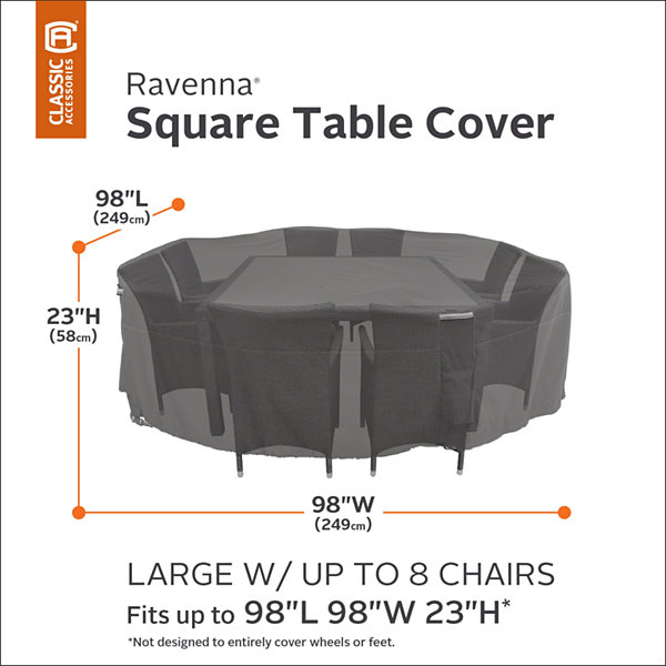 Classic Accessories Ravenna 2 Stackable Chaise Lounge Covers