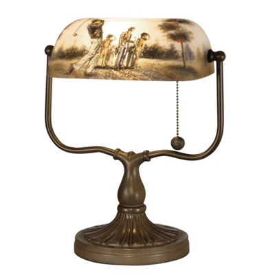 Dale Tiffany™ Golf Handale Desk Lamp
