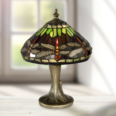 Dale Tiffany™ Dragonfly Mini Lamp