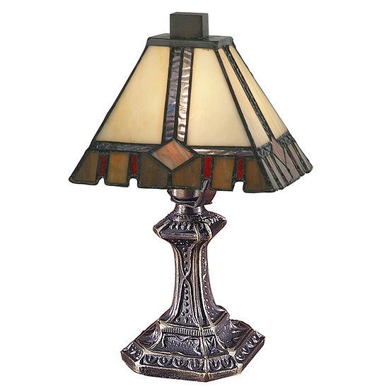 Dale Tiffany™ Castle-Cut Mini Lamp