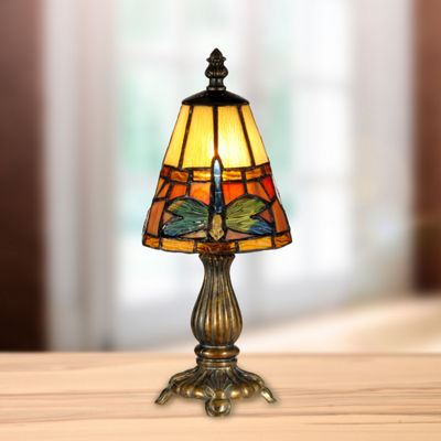 Dale Tiffany™ Cone Dragonfly Accent Lamp